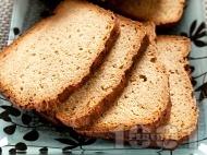 Рецепта Хляб с целина и джинджифил за хлебопекарна